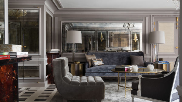 Suite Bernstein at Hôtel de Crillon, Paris, France