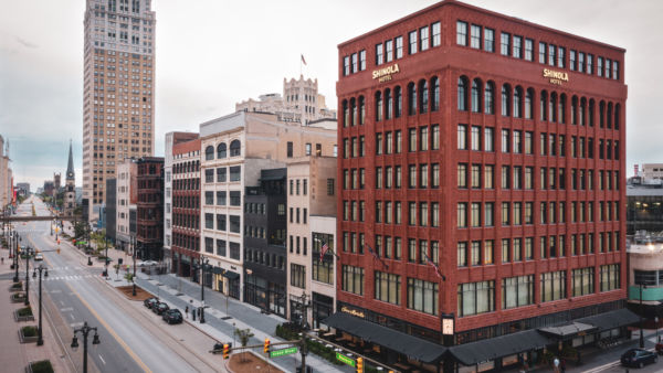 Shinola Hotel, Detroit, USA