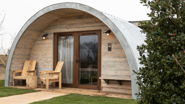 Piglet Cabins at Soho Farmhouse, Chipping Norton, England