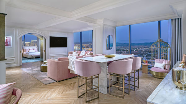 Fantasy Tower Presidential Themed Suites at Palms, Las Vegas, USA